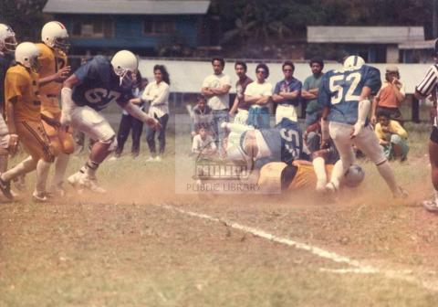 High School Football 1984
